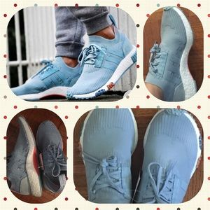 Adidas Women's NMD Racer PK Baby Blue Sneaker